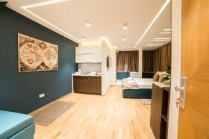 A kitchen or kitchenette at Belgrade Center Luxury Apartments