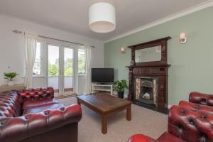 Zona de estar de Knockhill Court