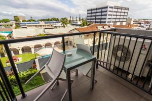 A balcony or terrace at Quest Mackay
