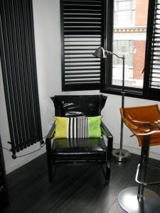 Setusvæði á Chelsea Luxury Flat