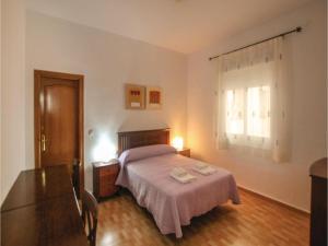 Cama o camas de una habitación en Four-Bedroom Apartment in Cartagena