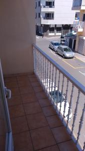 A balcony or terrace at Corralejo House