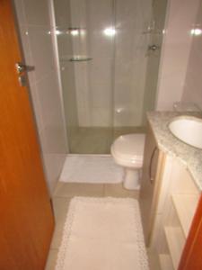 A bathroom at Apartamento Palmas