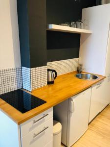 Una cocina o zona de cocina en Concordia Apartments