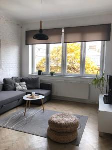 Zona de estar de Concordia Apartments