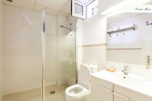Salle de bains dans l'établissement Conde de Ibarra