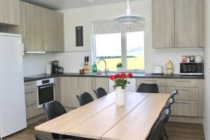Lava Water - Miðhraun廚房或簡易廚房