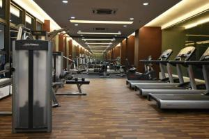 The fitness center and/or fitness facilities at Atlantis Residences