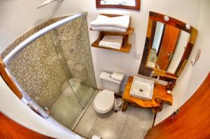 Een badkamer bij Casinhas da Julieta