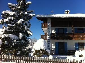 Haus Magnolia during the winter