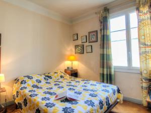 A bed or beds in a room at Apartment villa Piron