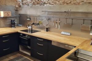 Cucina o angolo cottura di Loft Déco tout confort au coeur du quartier Haut