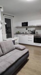 Кухня или мини-кухня в Apartmány Nové Butovice
