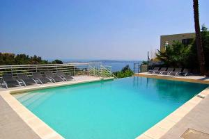 The swimming pool at or near Golfe-Juan Villa Sleeps 14 Pool