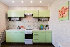 A kitchen or kitchenette at MaxRealty24 UP-kvartal 2