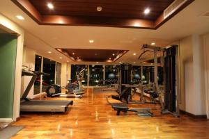 The fitness centre and/or fitness facilities at Haven Lagoon Condominium