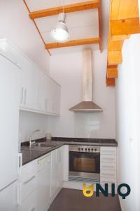 Eldhús eða eldhúskrókur á Apartamentos Con Terraza San Francisco De Borja