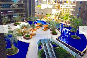 Vista de la piscina de Apto. Novo Landscape Beira Mar o alrededores