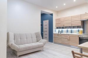 A seating area at Apartment on Kostromskaya 177/6