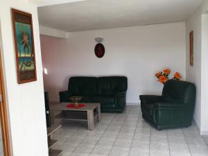 A seating area at Amory