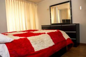 Cama o camas de una habitación en Miski Wasi.!