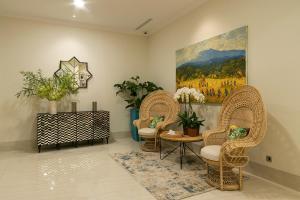 Area tempat duduk di Bianti Private Residence