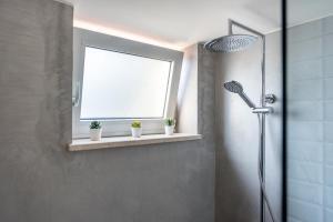 A bathroom at Poseidon's Luxury Apartment