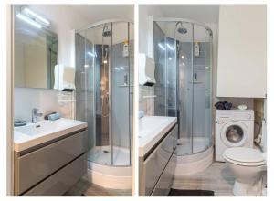 Ein Badezimmer in der Unterkunft ⭐️The Pfeffel   Unbeatable location  Petite Venise