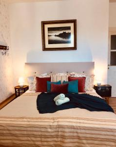 A bed or beds in a room at OldTown!/2BEDrooms/AuthenticBratislava/Spacious