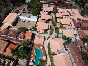 Uma vista aérea de Residencial Cores Do Arraial