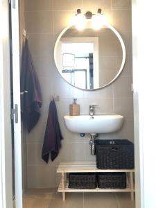 """A bathroom at """"Aires de Lumbreras"""" Duplex Terraza"""