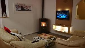 โทรทัศน์และ/หรือระบบความบันเทิงของ Casa Francesca