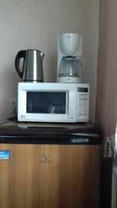 Принадлежности для чая и кофе в Apartment on Bratyev Zakharovykh