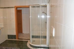 Ein Badezimmer in der Unterkunft Franzlhof