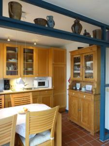 Küche/Küchenzeile in der Unterkunft Appartement Kayser Sylt
