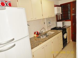 Una cocina o kitchenette en El Ciclón