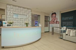 The lobby or reception area at Sandton Skye Unit 310