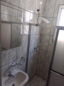 A bathroom at Caeté