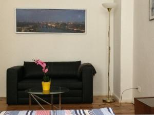 Ein Sitzbereich in der Unterkunft Super City-Ferienwohnung in Prenzlauer Berg (2)