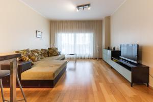 Svetainės erdvė apgyvendinimo įstaigoje Best Apartments City Centre
