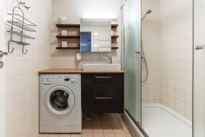 Vonios kambarys apgyvendinimo įstaigoje Best Apartments City Centre