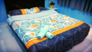 A bed or beds in a room at Sunway alphine village