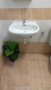 A bathroom at Sunway alphine village