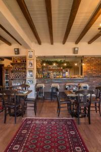 A restaurant or other place to eat at Rouga Chalet-Suites & Spa