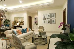Area lobi atau resepsionis di Bianti Private Residence