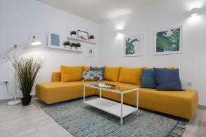 Zona de estar de Apartments Tudor