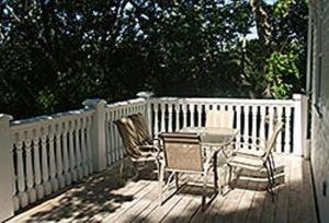 A balcony or terrace at Rayski Guest House