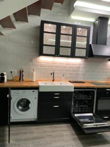A kitchen or kitchenette at The Good Loft