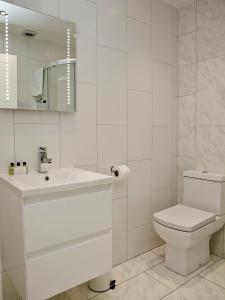 Ein Badezimmer in der Unterkunft Soho Chambers