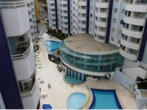 A view of the pool at Aguas da Serra or nearby